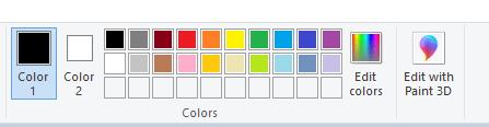 paint basic color